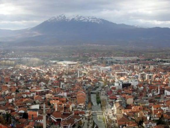 Prizren im Kosovo - 2008 hat sich der Kosovo, ehemals serbische Provinz, unabhängig erklärt. / Foto: Johannes Eisele (ddp).