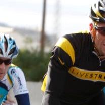 Sieben Tour-de-France-Titel müsste Lance Armstrong abgeben, wenn der Weltradsportverband der Anti-Doping-Agency Recht gibt. Foto: © Bettina Bartzen / dapd