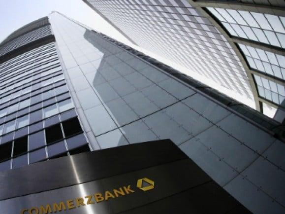 Commerzbank in Frankfurt. Foto  © Martin Oeser/dapd