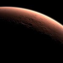 Vor 2040 wird wohl kaum ein Mensch den Mars betreten. Grafik: © NASA / JPL-Caltech / dapd