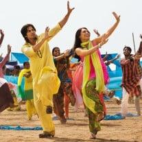 "Tanzszene aus dem Bollywood-Film ""Mein Herz ruft nach Liebe - Dil Bole Hadippa!"". Foto: © Rapid Eye Movies HE GmbH"