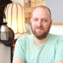 Felix Scharlau zu Gast im detektor.fm-Studio. (Foto: detektor.fm)