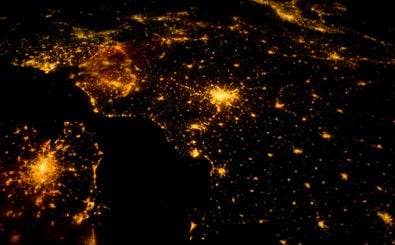 Europe at night from the ISS. Foto: CC BY-NC-SA 2.0 | Phil Plait/ flickr.com