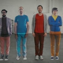 "Im Video von OK Go zu ihrer Single ""The Writing's On the Wall"" ist nichts, wie es scheint.  Foto: Screenshot 