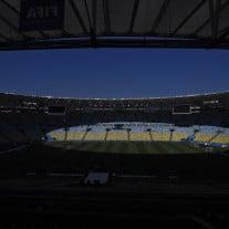 Ein Blick ins Maracana-Stadion vor dem Anpfiff. Foto: AFP | Franck Fife