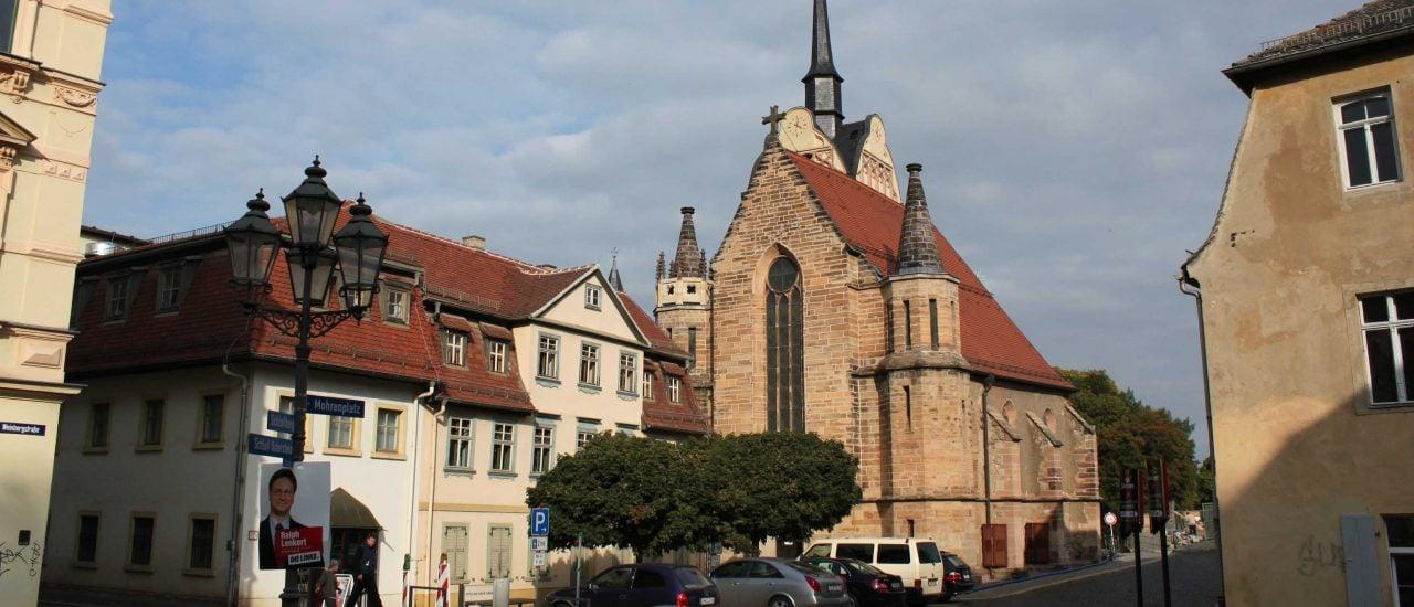 Zu Zeiten des Malers gehörte gera zu den reichsten Städten Deutschlands. Heute ist die Gemeinde pleite. © Flickr