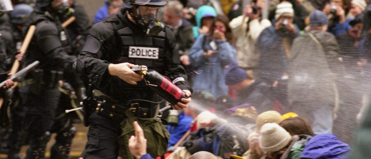 Foto: WTO protests 10 | Steve Kaiser / flickr.com | CC BY-SA 2.0