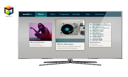 detektor.fm Smart -TV-App