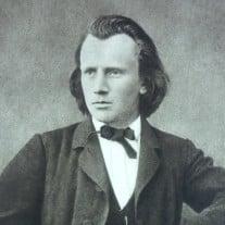 Johannes Brahms - wikimedia - Adrian Michael