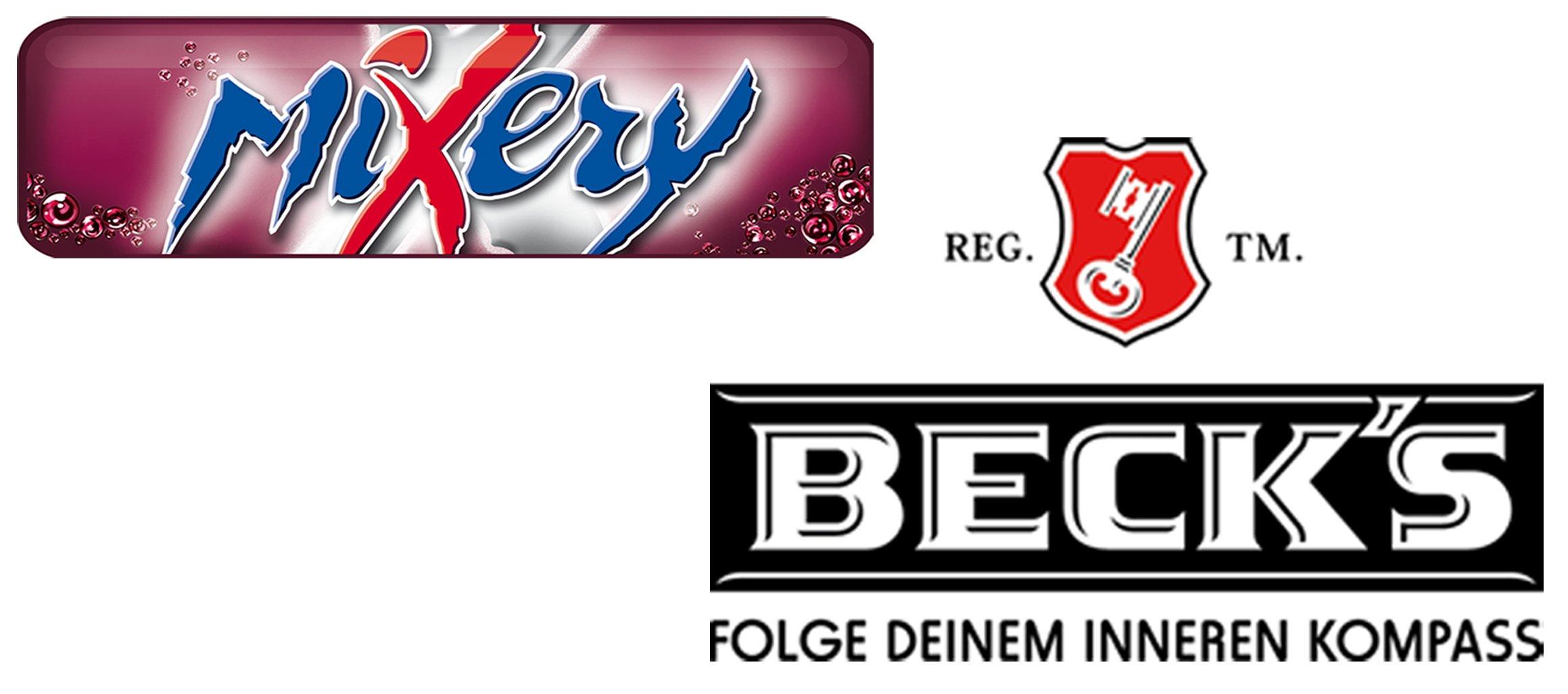 Logoleiste_becks und Mixery_web