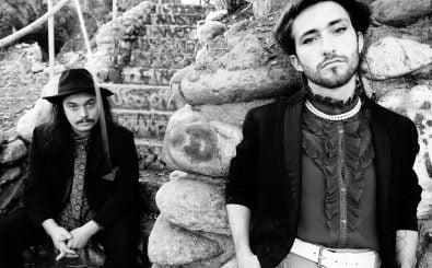 Michael Collins und Sasha Desree sind Silk Rhodes. Foto: Theo Jemison.