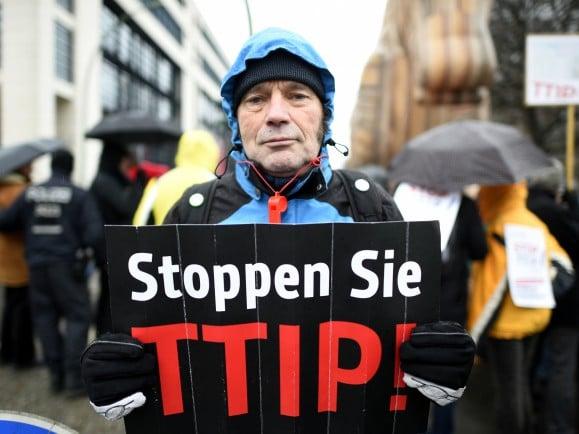 TTIP stoppen Tobias Schwarz AFP