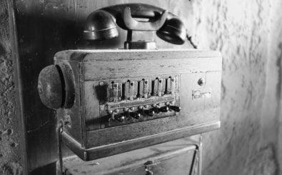 Gefühlt riefen schon mit diesem Telefon Hörer bei Domian an