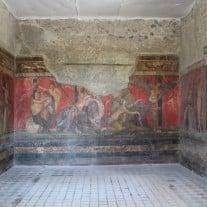 Die Weltberühmten Fresken der Mysterienvilla. Foto von themadpenguin von Flickr.com (CC BY-ND 2.0)