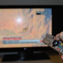 TV, Television and remote controller - stock photo | CC BY 2.0