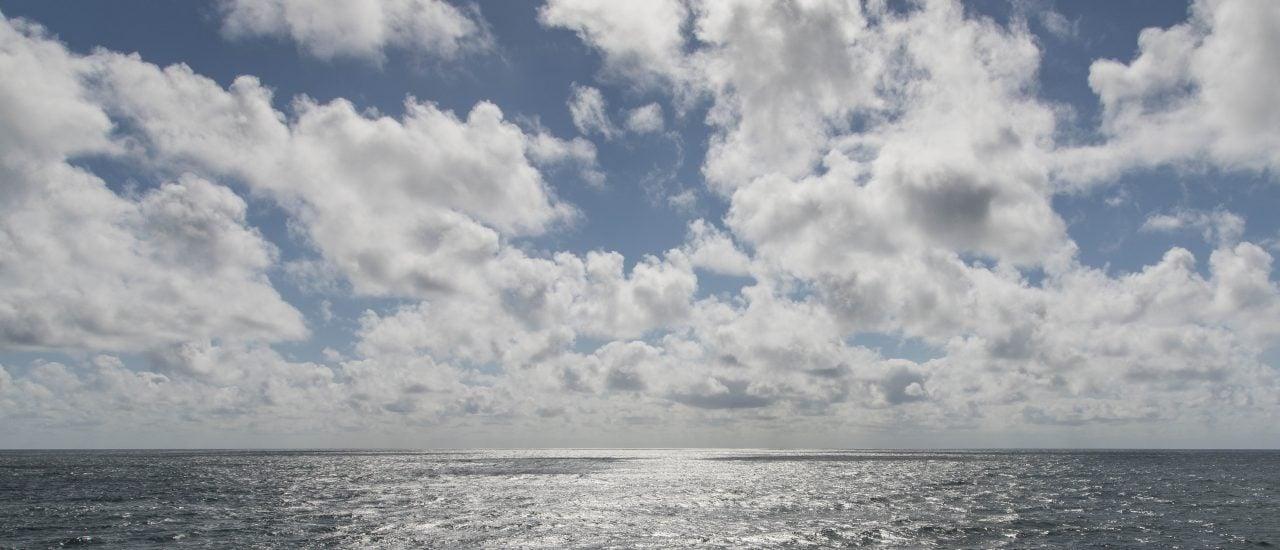 Der Himmel, das Meer, und dazwischen: Der Oberflächenfilm. Foto: Tilo Arnhold | Tropos