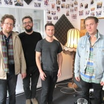 The Franklin Electric zu Gast im Studio. Foto: detektor.fm