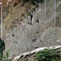 Zaun Ceuta Spanien Exklave Marokko - JOSE LUIS ROCA AFP