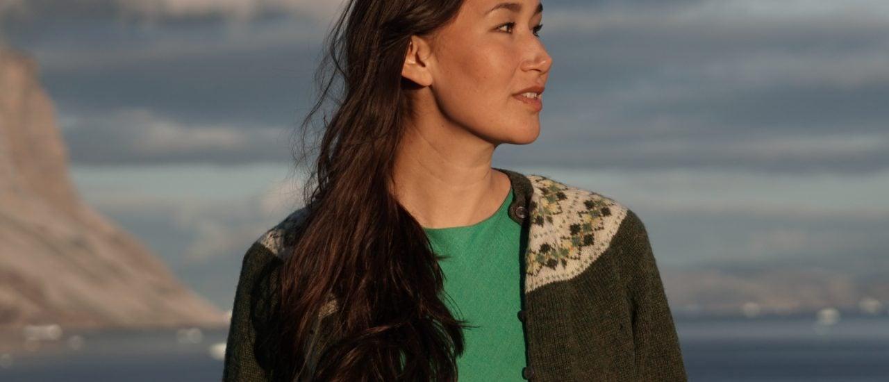 Reisen als Inspirationsquelle – Nive Nielsen aus Grönland. Foto: Promo