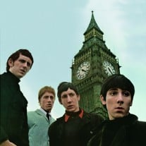 Im April 1966 erscheint das Album auch in den USA unter dem Titel 'The Who Sings My Generation'. Das Cover-Artwork der US-Version zeigt The Who vor dem Big Ben. Foto: David Wedgbury