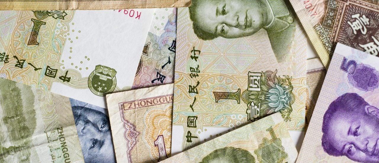 Yuan wird Weltreservewährung – neben Dollar, Euro, Pfund und Yen. Foto: Chinese yuan bills CC BY-SA 2.0 | Japanexperterna.se / Flickr.com