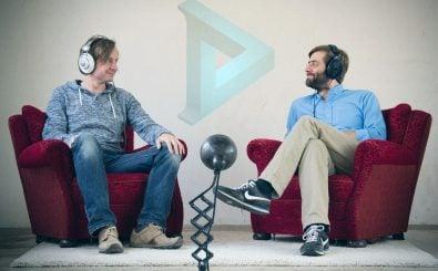 Achim Fell und Christian Sanders haben Dear Reality gegründet – und kümmern sich um 3D-Audio. Foto: Dear Reality UG