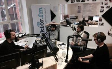 Die detektor.fm-Musikredaktion bei der Arbeit. Foto: detektor.fm