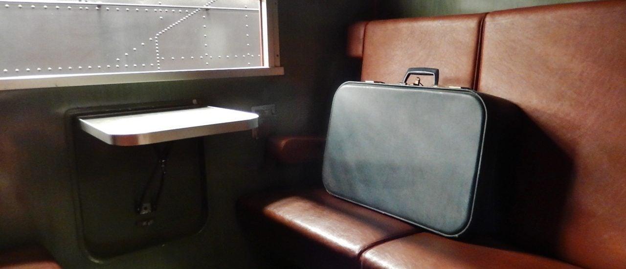 Suitcase on Seat |