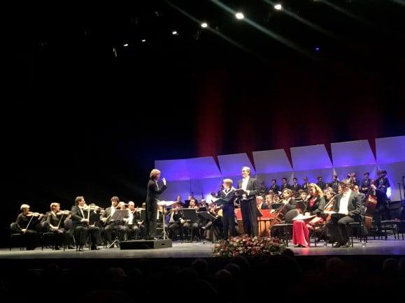 Gewandhausorchester und Thomanerchor auf einer Bühne - hier bei einem Konzert in Israel. Foto: RomanFriedrich | SINNergy