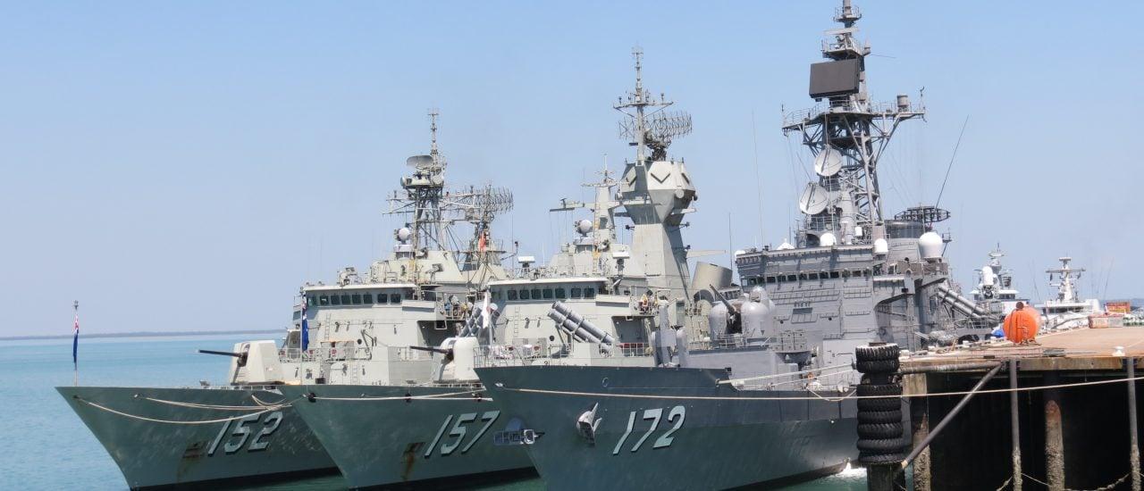 Foto: Warships in Darwin Harbour for Exercise Kakadu September 2012. | CC BY 2.0 | Ken Hodge / flickr.com