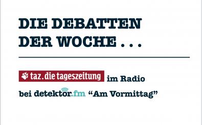 Erdogan, Gauck, Boateng – die Debatten der Woche. Grafik: detektor.fm