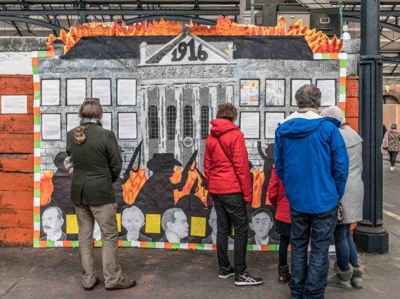 Hundert Jahre Osteraufstand in Dublin – Zeit für die Dubliner, sich mit einem der wichtigsten Ereignisse ihrer jüngeren Geschichte auseinanderzusetzen. Foto: CC BY-SA 2.0 | William Murphy / flickr.com