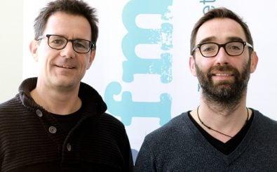 Die Mediatoren Dominik Wahlig und Sascha Weigel. | Foto: detektor.fm