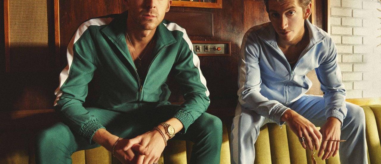 Miles Kane und Alex Turner alias The Last Shadow Puppets. Foto: Zackery Michael