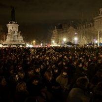 Nuit Debout auf dem Place de la République. Seit dem 31. März heißt es Nacht für Nacht: So nicht! Foto: CC0 1.0 | Nicolas Vigier / flickr.com.