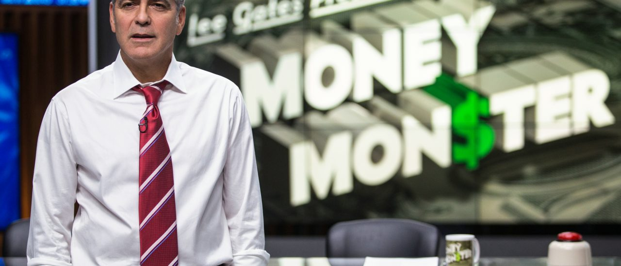 George Clooney als Lee Gates in Money Monster. Foto: Sony Pictures Releasing GmbH