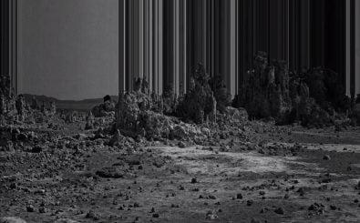 "Felsen werden nach oben weggewischt, im Musikvideo zu ""Fall Together"". Foto: | Screenshot | vimeo.com"