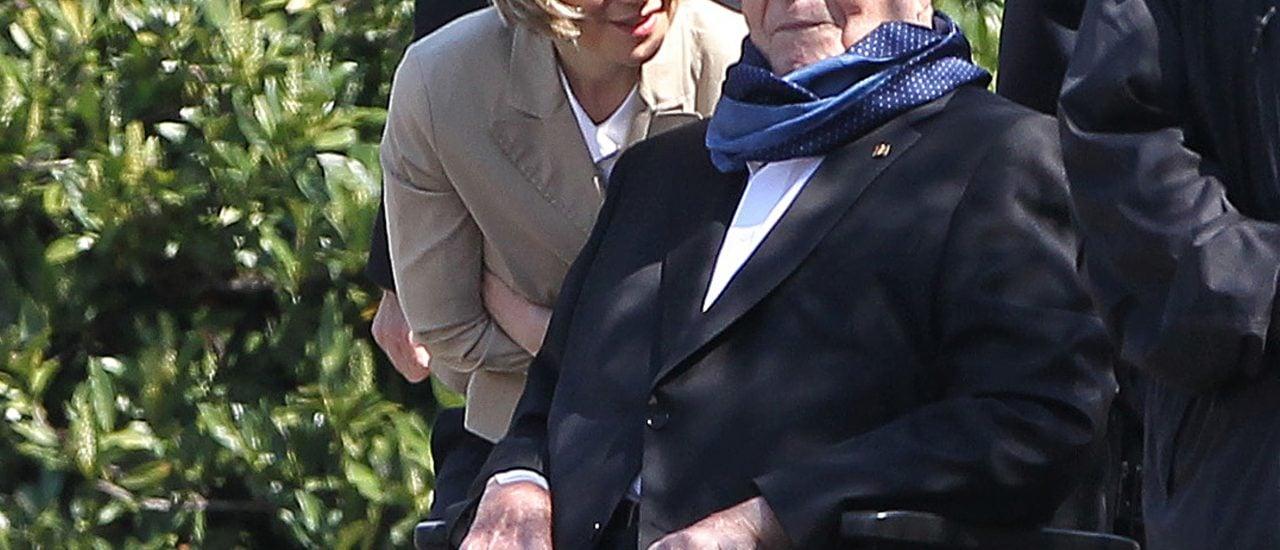 Helmut Kohl mit seiner zweiten Frau. Foto: Daniel Roland | AFP