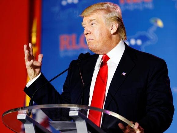 Mittlerweile undenkbar: Eine Woche, ohne eine Schlagzeile rund um Donald Trump.