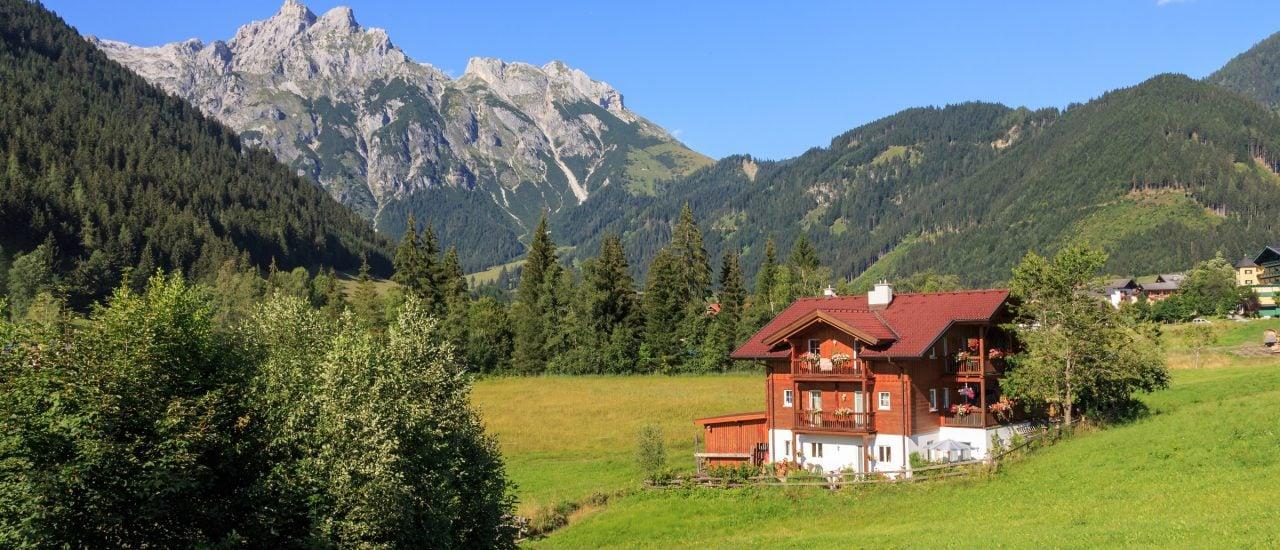 Werfenweng in Österreich. Foto: Werfenweng. Österreich | CC BY 2.0 | Michael Mark | flickr.com.