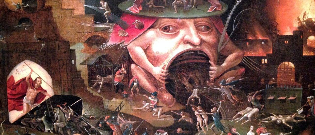 Hatte auch so seine Vorstellungen vom Tod und der Hölle: Hieronymus Bosch. Bild: Hieronymus Bosch CC BY 2.0 | Jaysmark / flickr.com