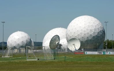 NSA/BND-Anlage in Bad Aibling Foto: Christof Stache | AFP
