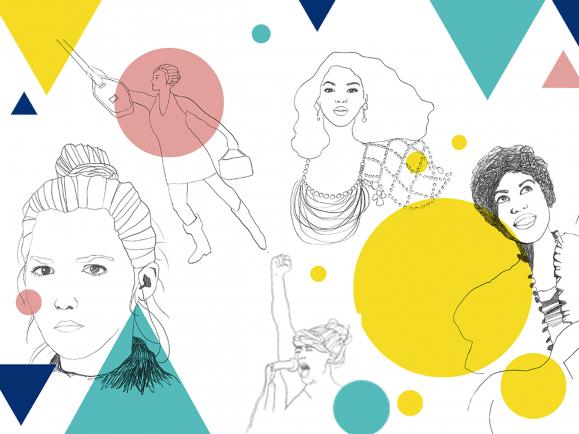 Werden Frauen im Pop immer noch benachteiligt? Grafik: detektor.fm / Pauline Gallinat