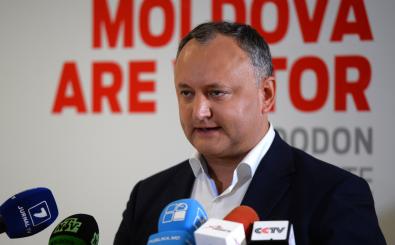 Der designierte Präsident der Republik Moldau: Igor Dodon. Foto: Daniel Mihailescu | afp.com