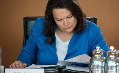 Andrea Nahles. Nicht alle Forderungen der Arbeitsministerin stoßen auf Zustimmung. Trotzdem zeigt sie sich mit den Ergebnissen der Rentenreform zufrieden. Foto: Odd Andersen | AFP