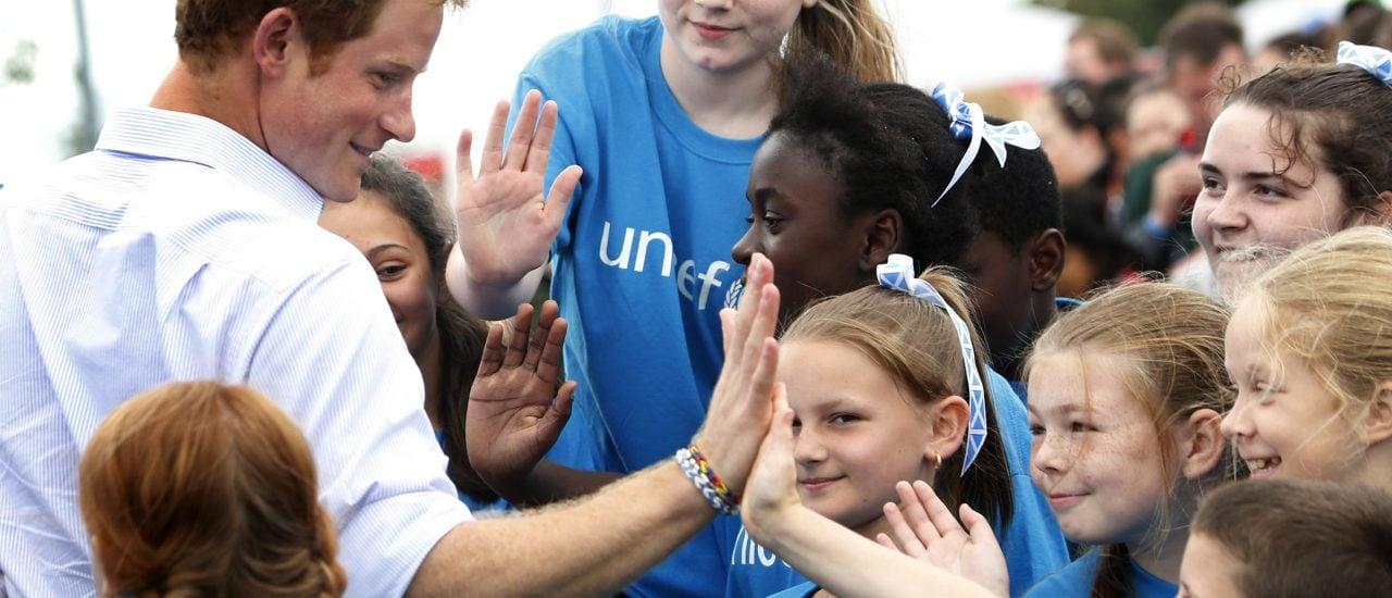 Prinz Harry in Aktion. Foto: Danny Lawson | AFP