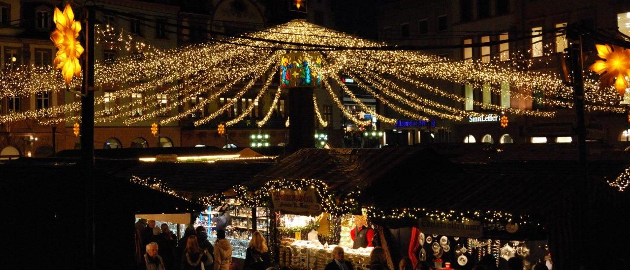 Der Mainzer Weihnachtsmarkt sorgt dieses Jahr für Ärger. Foto: Ting Chen / flickr.com