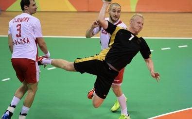 Im Januar kämpfen die besten Handballteams der Welt um die Medaillen. Dabei ist auch das deutsche Team mit Kreisläufer Patrick Wiencek vertreten. Foto: Javier Soriano | AFP