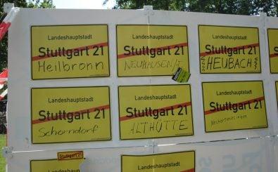 Stuttgart 21 beansprucht als Bauprojekt Millionen. Die Proteste gehen über die Stadtgrenzen hinaus. Foto: Kundgebung gegen Stuttgart 21 CC BY-SA 2.0 | Bündnis 90/Die Grünen Baden-Württemberg / flickr.com