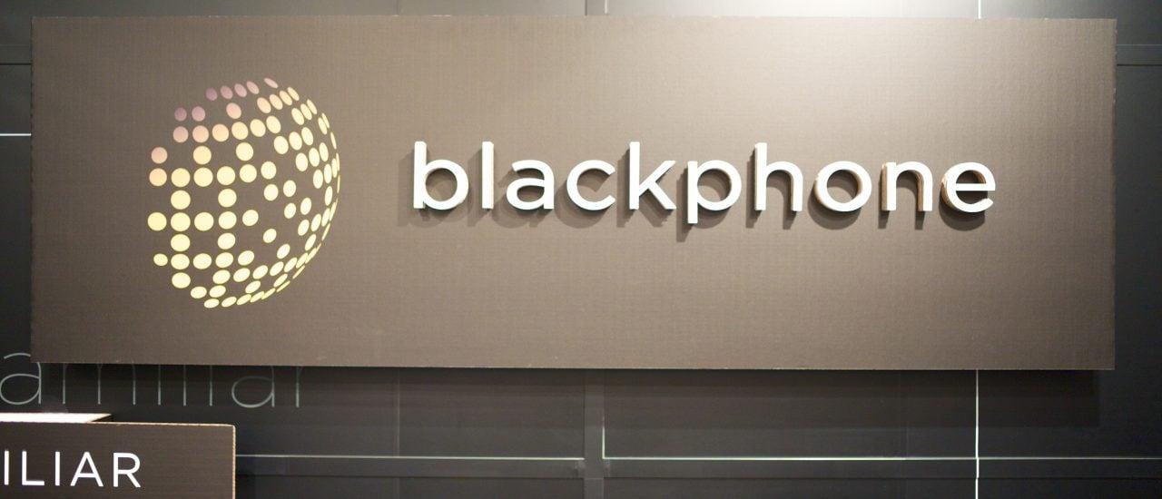 Das Blackphone wird als das sicherste Smartphone der Welt vermarktet. Trotzdem bleibt der Erfolg bisher aus. Foto: Blackphone logo | CC BY 2.0 | Jon Callas / Flickr.com